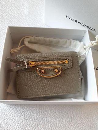 Balenciaga mini wallet 短夾