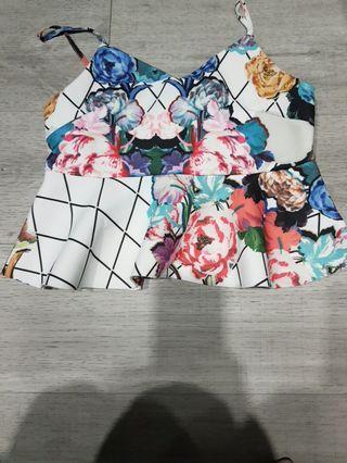🚚 Floral Top