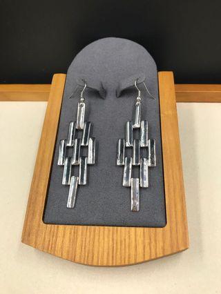 出口歐美 人造首飾 - 耳環(EXPORT Europe / USA Fashion Jewellery Earrings) Length About 7cm
