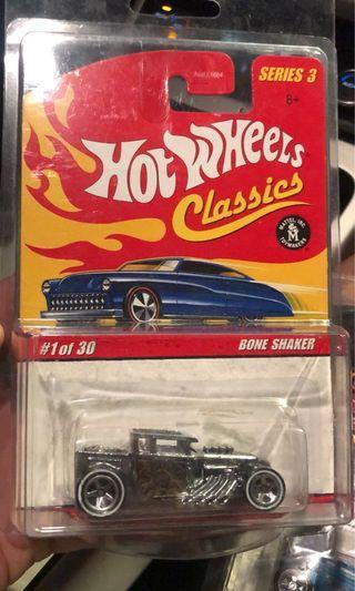 Hot Wheels Classic Bone Shaker Silver