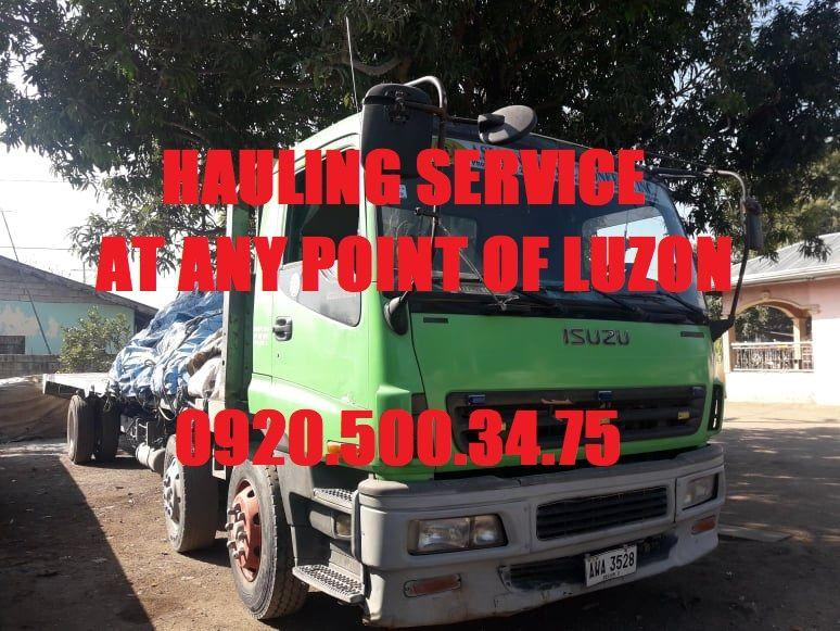 Hauling Services for debris gravel and sand