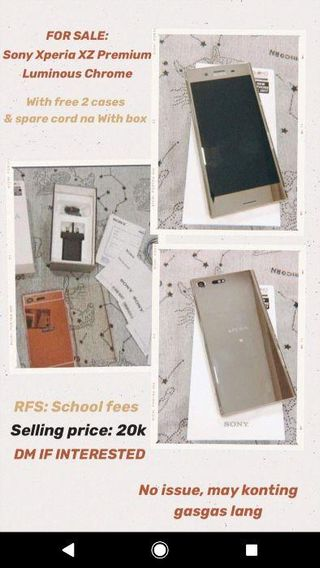 sony xperia xz | Mobile Phones & Tablets | Carousell Philippines