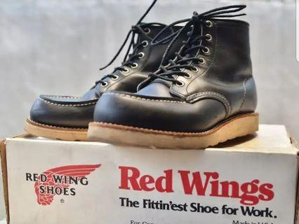 Red Wings Moc Toe