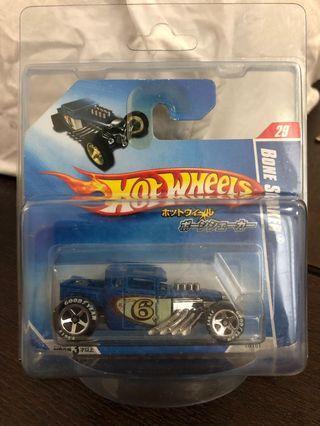 Hot wheels Japan Short card exclusive Bone Shaker