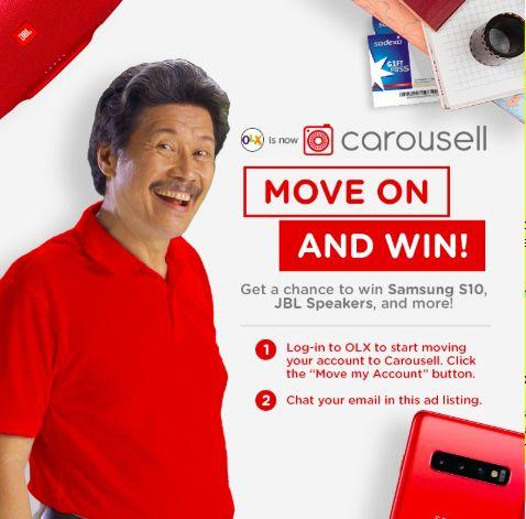 Move On And Win Early Bird Giveaway (Samsung S10 plus more