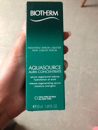 Biotherm aquasource aura aoncencrate