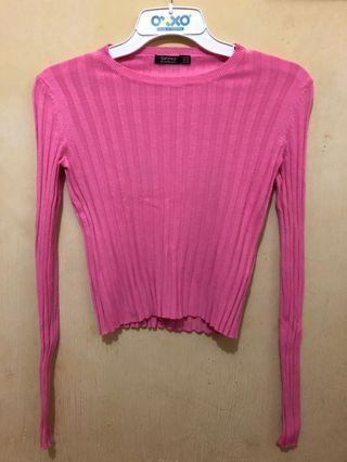 #luckyoetama t-shirt berskha pink