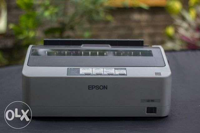 Epson LQ310 dot printer 24pins for sale on Carousell