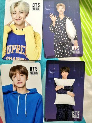 [WTT] BTS WORLD OST Photocard and Game coupon