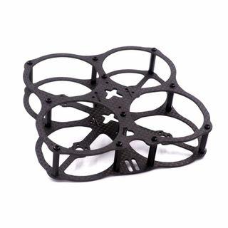 78mm  FPV  indoor cross racing micro brushless quadcopter frame