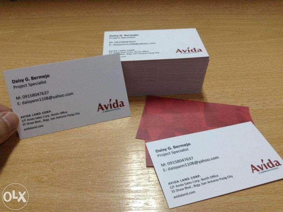 Business Calling Cards PVC Calling Cards Membership Cards