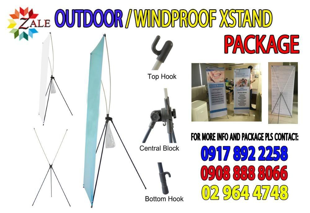 Aluminum Roll Up Pull Up Banner Stand X Stand Sintra Board Standee