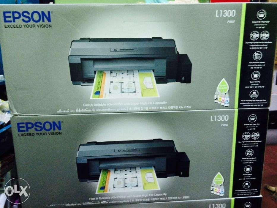 Epson L1300 A3 Ink Tank Printer with UV Dye Ink on Carousell