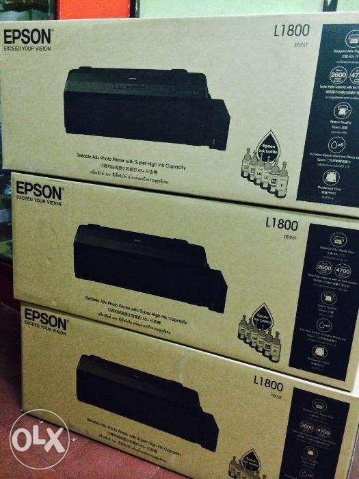 Epson L1800 A3 6 Colors Photo Ink Tank Printer with UV Dye