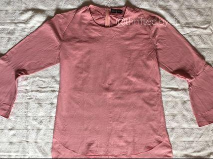 Marie & frisco pink top