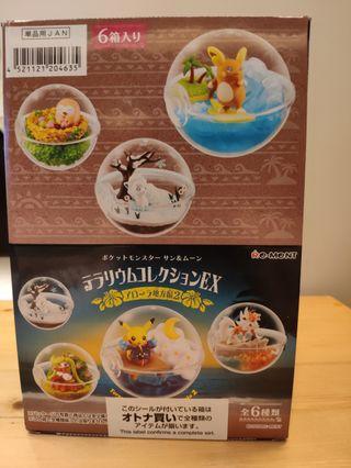 最新版 日本帶回 皮卡丘/寶可夢 限量六入完整版