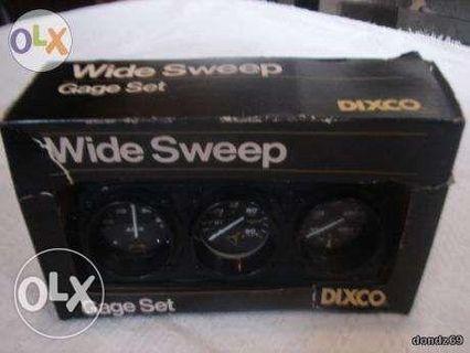 Dixco Wide Sweep 3Pc Set Or Single Gauge US