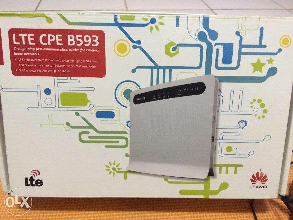 Huawei LTE CPE B593 router 4G Internet Network WiFi WLan