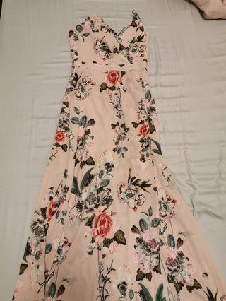 MDS Floral Maxi Dress