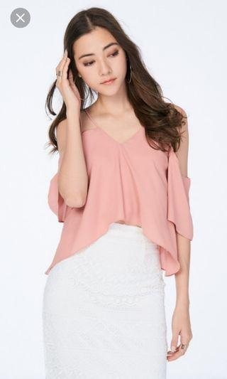🚚 TCL Calynn top in pink