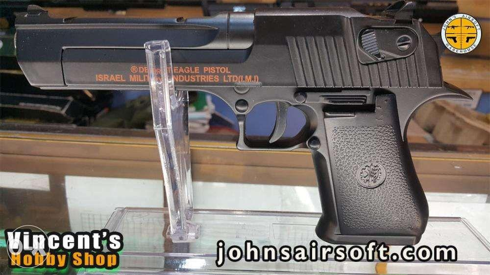 Airsoft Desert Eagle C20a Full Metal Version Sports Airsoft On Carousell