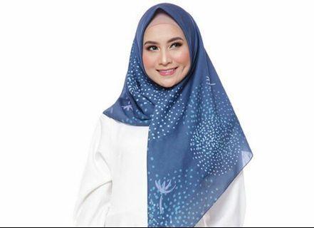Voal print hijab