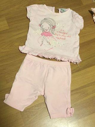 🚚 Baby Girl Set 12months