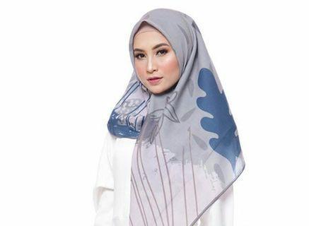 Voal printing hijab