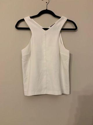 Topshop singlet top size uk10