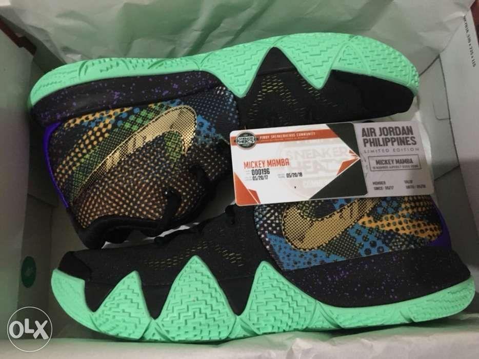 BNDS Nike Kyrie 4 Mamba Mentality, Men's Fashion, Footwear ...