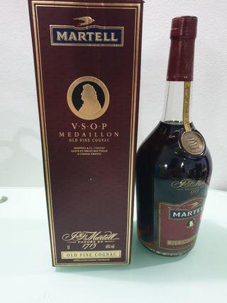 Vintage 1L Martell VSOP