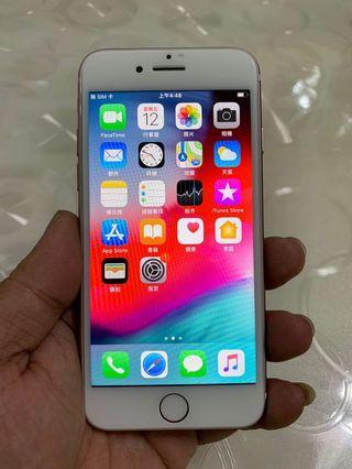 🚚 IPhone 7 玫瑰金 128g 4.7吋 (IOS:12.3.1) 單機無盒配件無耳機、 原廠屏幕、IMEI及序號都正常、外觀九成五新、漂亮完美無傷、 、所有功能正常順暢。已貼滿版保護貼及後膜。 電池健康度🔋100%
