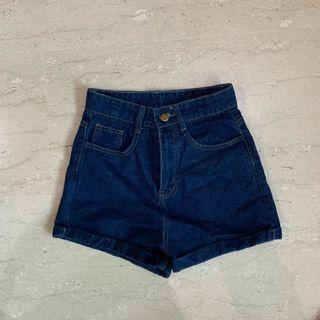 Denim high waist shorts!!! 2 FOR $15