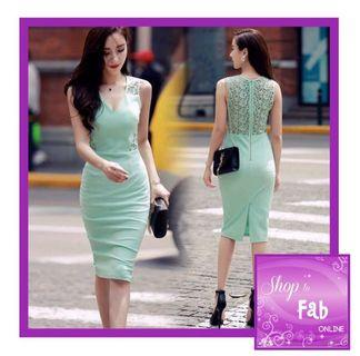 Green Elegant Dress