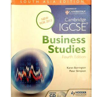 Business Studies Text Book for IGCSE