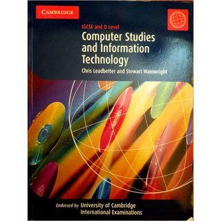 Computer Science Textbook for IGCSE and O-levels published by Cambridge University Press