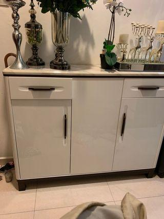🚚 Marble TOP Shoe cabinet