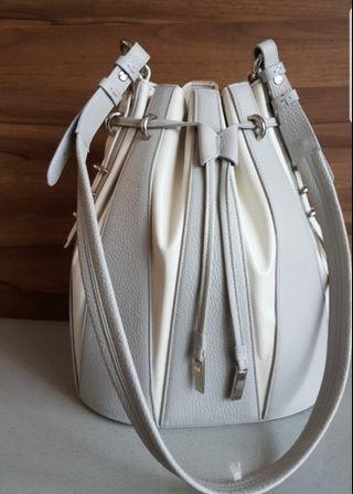 Italian leather bucket bag