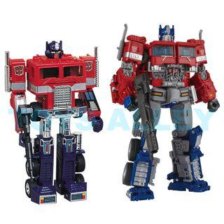 [Preorder] Transformers 35th Anniversary G1 & Movie Studio Series Optimus Prime 2 Pack Set