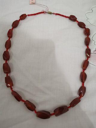 Agate Neclace from Japan