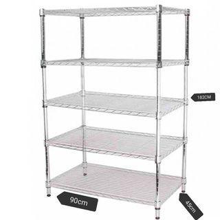 5 Layer stainless storage rack