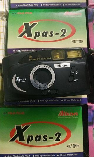 Kamera Analog NOS (New Old Stock) Aikon Xpas2