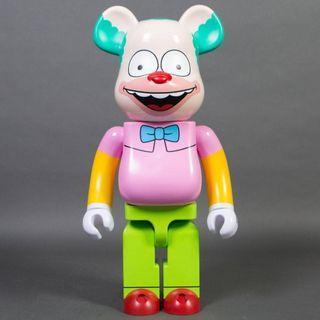 Medicom Bearbrick The Simpsons Krusty the Clown 400%