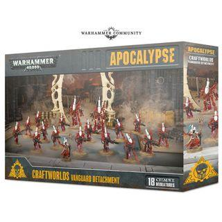 WARHAMMER 40K APOCALYPSE: CRAFTWORLDS VANGUARD DETACHMENT