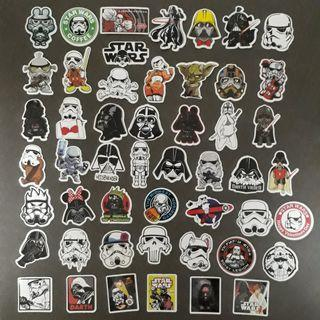 🚚 50 pieces of Star Wars stickers