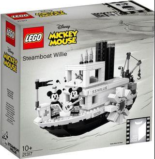 IDEAS Lego 21317 Mickey Mouse Steamboat Willie