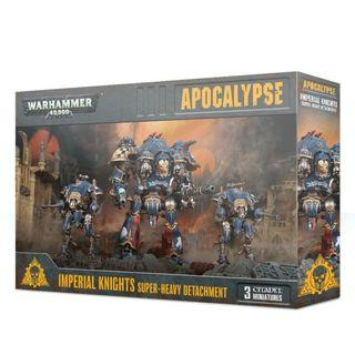 WARHAMMER 40K APOCALYPSE : IMPERIAL KNIGHTS SUPER HEAVY DETACHMENT