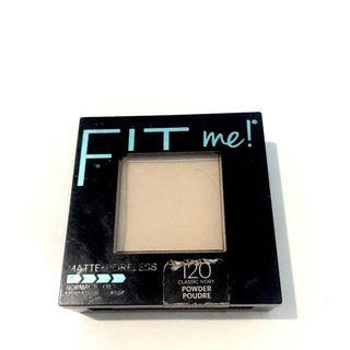 Maybelline fit me classic ivory 120 powder