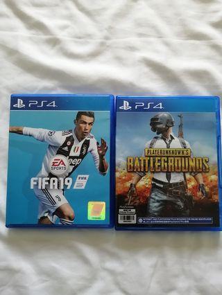 🚚 FIFA 19 and PUBG (PS4) BUNDLE