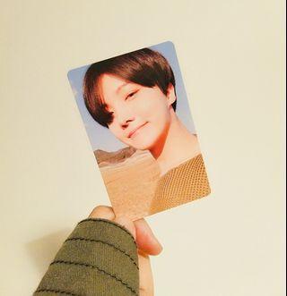 "Love Yourself Tear ""Y"" Jhope photocard"
